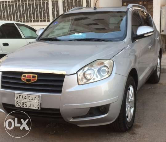 Geely Emegrand EX7 Jeep 2014