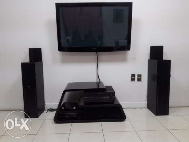 AV System: Amplifier, TV, speakers etc