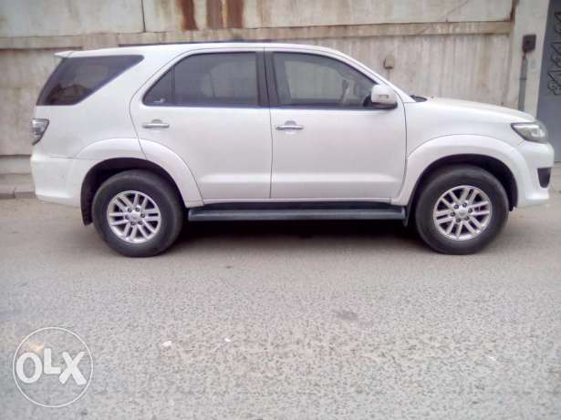 Urgent sale of Toyota Fortuner 2014