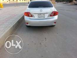 Toyota corolla 2009 well maintained