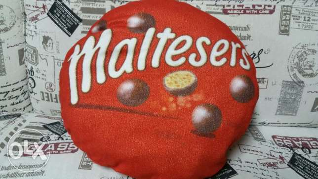 Maltesers pillow