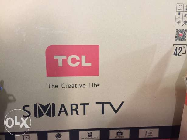TCL smart Tv new unopened box only 1000