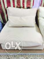 Branded single seater sofa very good condition washable cover also
