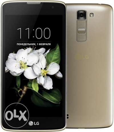 Brand New Sealed LG K7, 8GB, 3G,Dual Sim Golden,Black (Free Delivery)