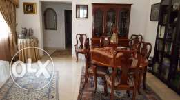 Dining Table (Expendable) with 8 chairs - Saudia City Compound