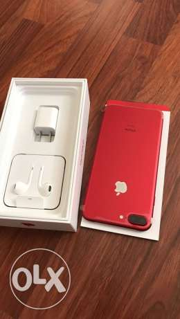 Apple iphone 7plus red 100% original with full accessories