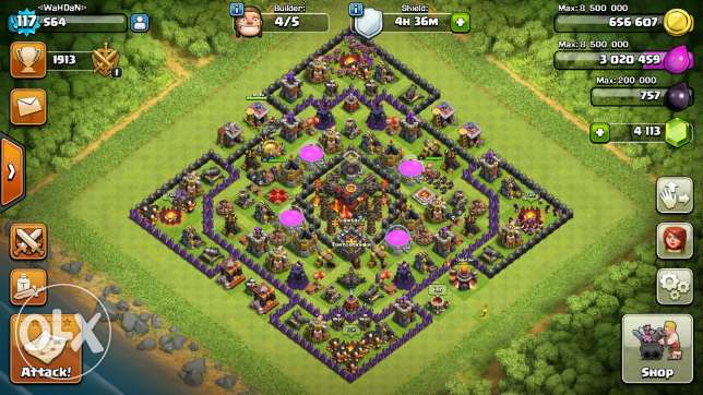كلاش اوف كلان clash of clans