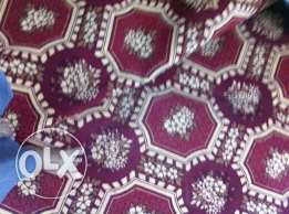Turkey Carpet (Oval size) - 1No, Carpet Red color (400cmx340cm) - 1No