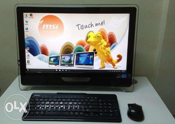 MSI All In One Multi-Touch Game- Pro Full HD Desktop (Mint Condition)