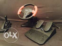 PlayStation 2 driving wheel