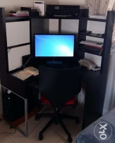 Computer Table with Chair
