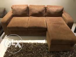 used sofa L shape from home box
