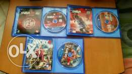 Nba 2k15 nba 2k16 farcry 4 for ps4