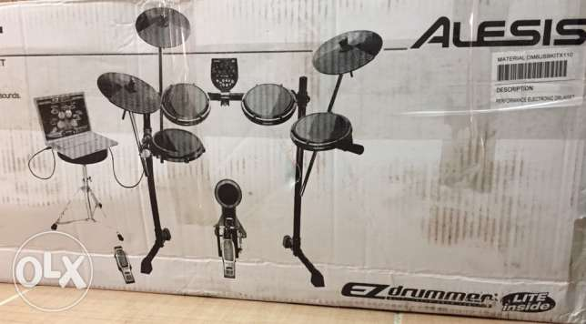 Alesis electric drum set with Yamaha additional features
