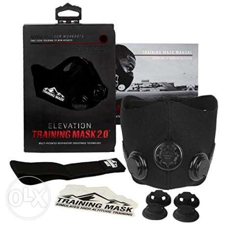 Elevation Training Mask 2.0 (BlackOut) القناع الرياضي