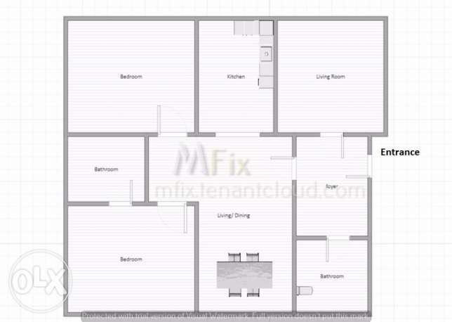 4 Rooms I Brand new I Master Bedroom I Fitted Kitchen I Separate Livi