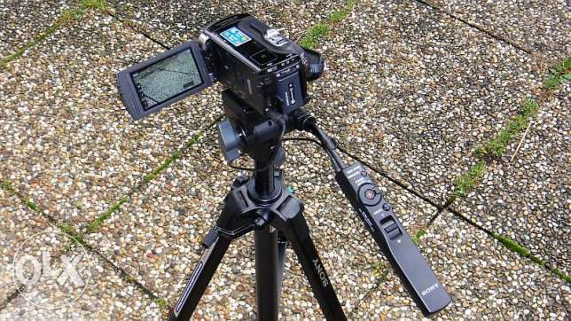 Sony VCT-80AV Remote Control Tripod for use with Compatible Sony Camco