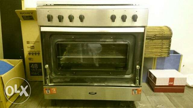 Gas Stove 5 Burners With Oven (Made In Italy)