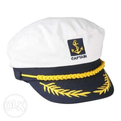 قبعة كابتن بحري - Captain Navy Hat