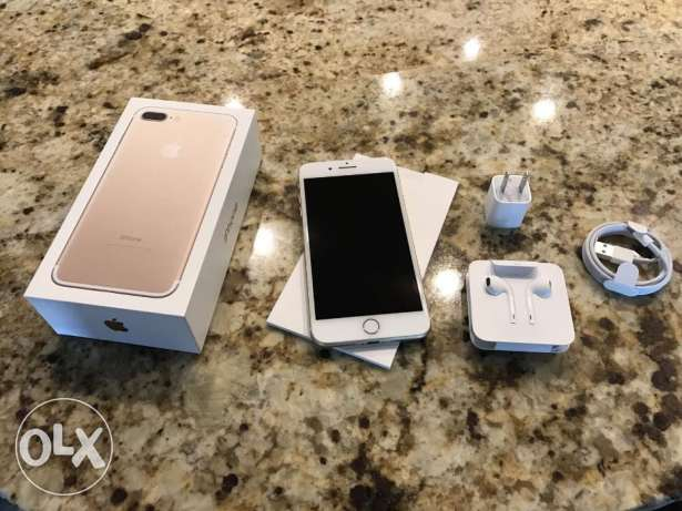 IPhone 7 plus Gold 256GB for sale
