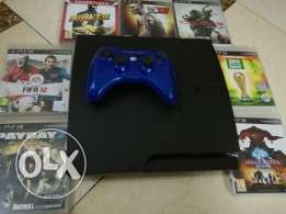PlayStation 3 (320 gb) with 7 GAMES and 1 Controller .