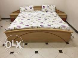 2 Bedroom sets, Study Table, Baby Cot, Divider, Carpets, Dinning Table