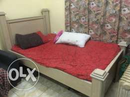 Single Bed Set with Cupboard
