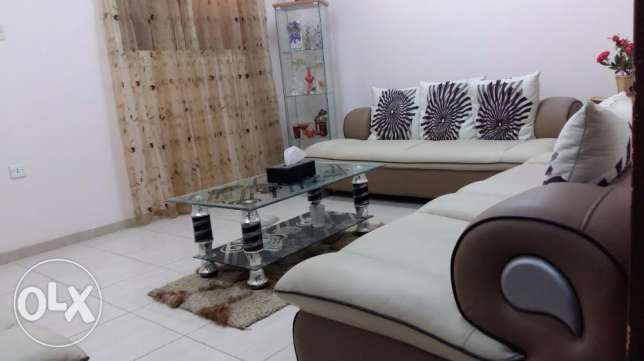 Sofa Set- 7 Seater, Elegant, Sturdy, Leather cover with Centre Table