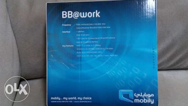 Mobily 3G Router
