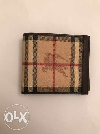 original Burberry men wallet