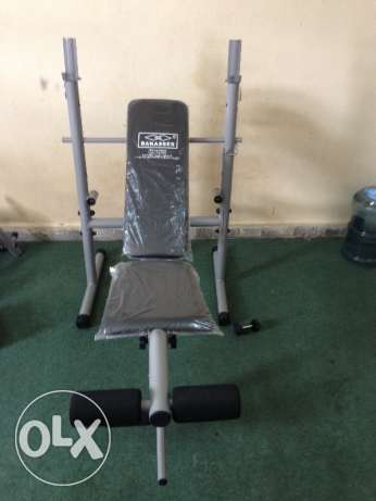 Gym bench new