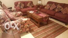 Luxury living room furniture made in USA