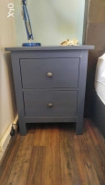 IKEA 2-drawer chest, blue