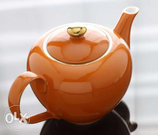 Glass Kettle - Golden Brown