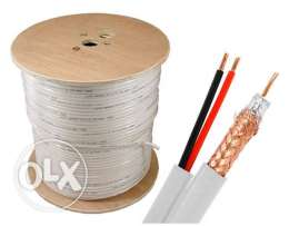 Cable video & power full copper
