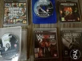 6 PlayStation 3 Awesome Games for Sale ... Cheap Prices !