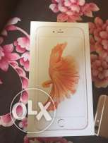 iPhone 6s rose gold 16 gb new with box charger not used new condition