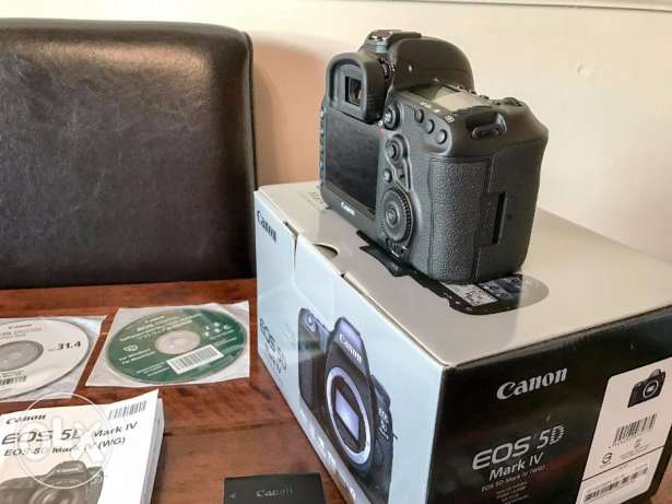 full Canon EOS 5D Mark IV + Extras!!