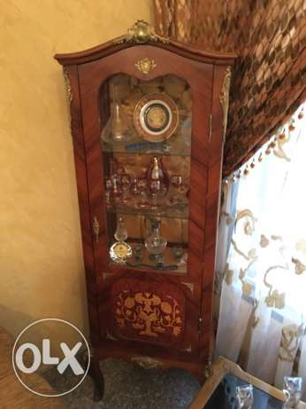 Wooden Vitrine for sale