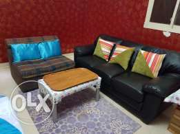 Sofa 3 seater Black color excellent condition