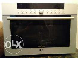 LG microwave oven and single door refrigerator for sale