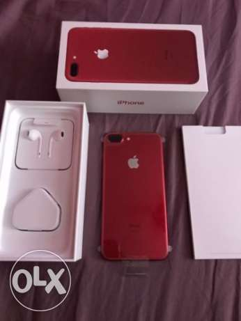 iphone 7 plus 256gb unlock with warranty RED100%full accessories AND B