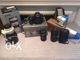 Canon EOS 5D Mark III 22.3MP DSLR Camera (w/ 24-105mm) Lens