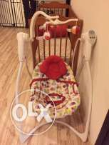 Graco Baby Swing ( red)