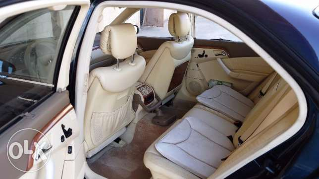 Low mileage Mercedes S-500 for sale الرياض -  5
