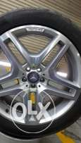 Mercedes-Benz AMG Alloy Rims with Tires