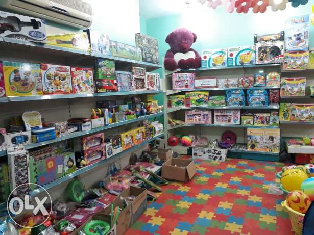 Selling toy shop