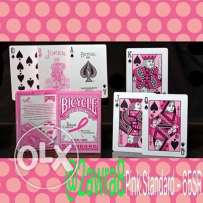 Bicycle Playing Cards ( Standard Pink )