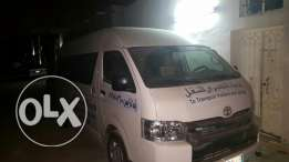 Toyota Heigh Roof for rent daily/monthly