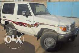 Toyota Land cruiser, 3 Doors Hard Top ,2015, White, Excellent